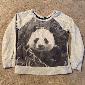 Shirts & Tops - Girls long sleeve panda top